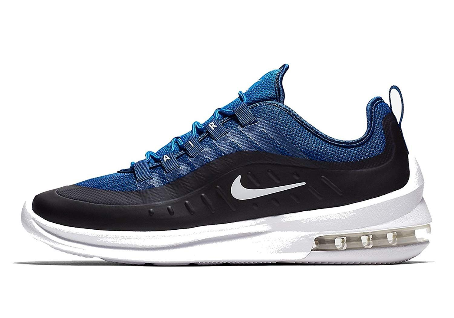 reputable site 4ed09 ea6ff Nike Men s Air Max Axis Gym Blue White Sneaker  Buy Online at Low Prices