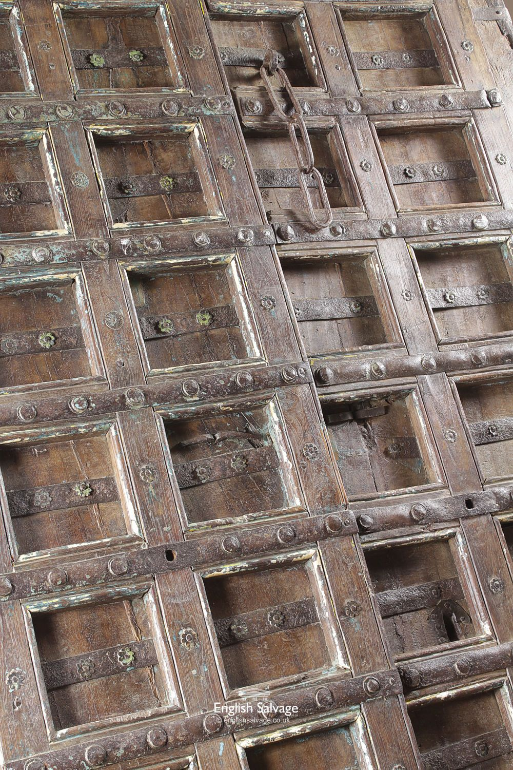 Reclaimed Hardwood Old Thick Doors / Panels
