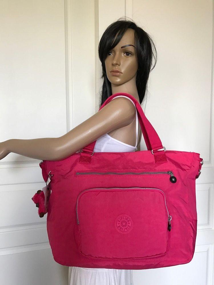 3b030c7fc Nuevo con etiquetas Kipling Maxwell hombro bolsa gimnasio bolso viaje bolsa  vibrante Rosa | Ropa, calzado y accesorios, Carteras y bolsos de mujer,  Carteras ...
