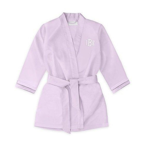 f125eca08 Personalized Children's Lavender Kimono Robe - Flower Girl Robe - Purple  Kimono - Little Girl's Kimo