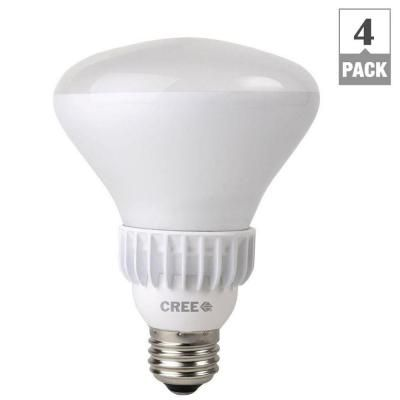 Cree 65W Equivalent Soft White (2700K) BR30 Dimmable LED Flood Light Bulb (4-Pack)-BBR30-06527FLF-12DE26-1U100 at The Home Depot
