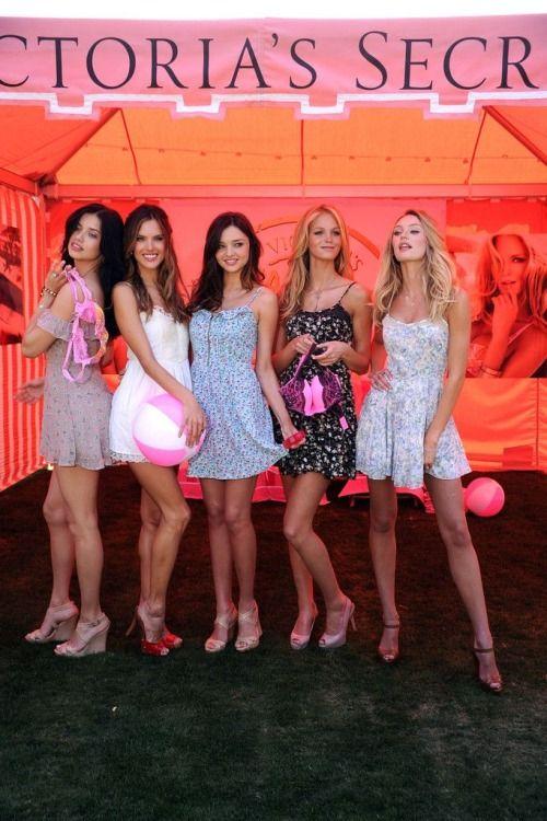 Adriana,Alessandra,Miranda,Erin and Candice