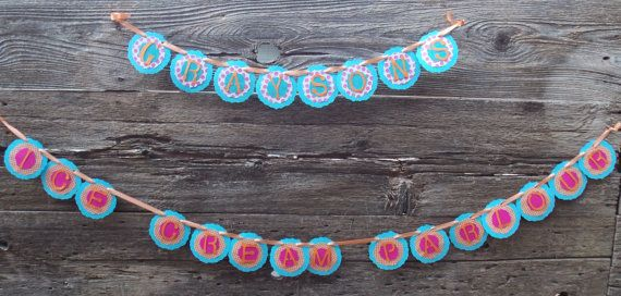 Ice Cream Party Banner by PartyGypsy on Etsy, $25.00