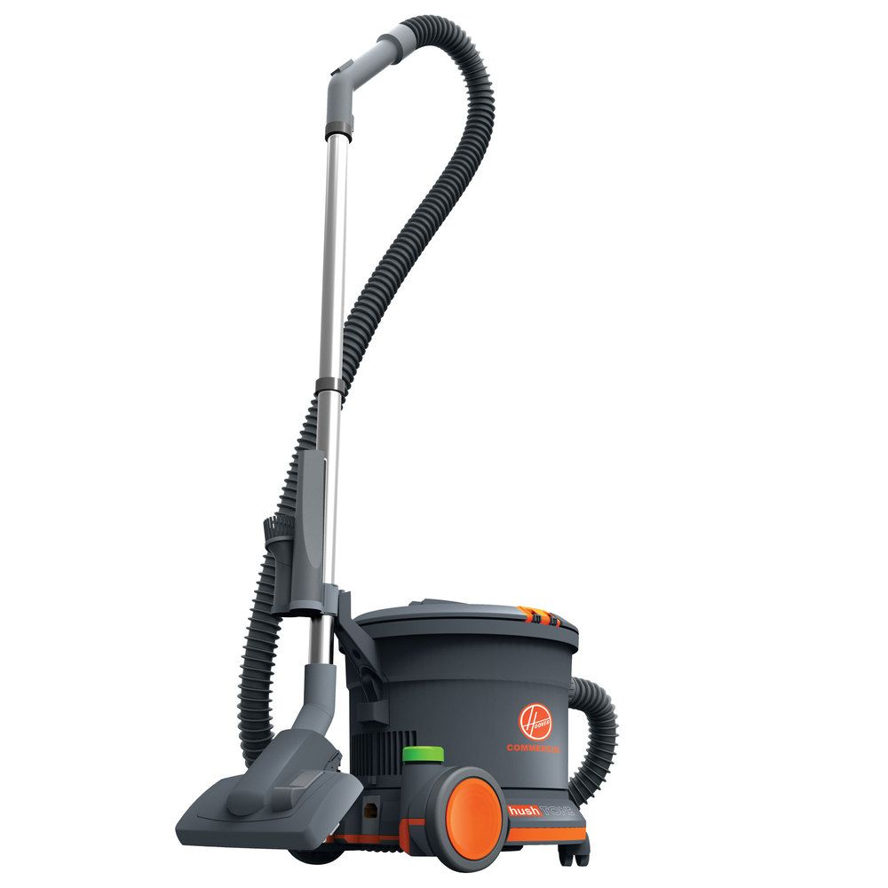 Hoover Ch32008 9 5 Qt Hush Tone Commercial Canister Vacuum Vacuums Commercial Vacuum