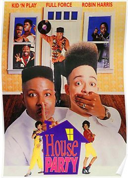 House Party 1990 Poster By Bolosamoa75 Products Movies House