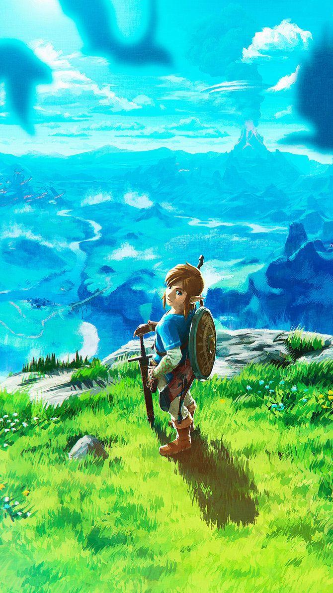 The Legend Of Zelda Breath Of The Wild Wallpaper By De Monvarela Deviantart Com On Deviantart Legend Of Zelda Breath Breath Of The Wild Legend Of Zelda