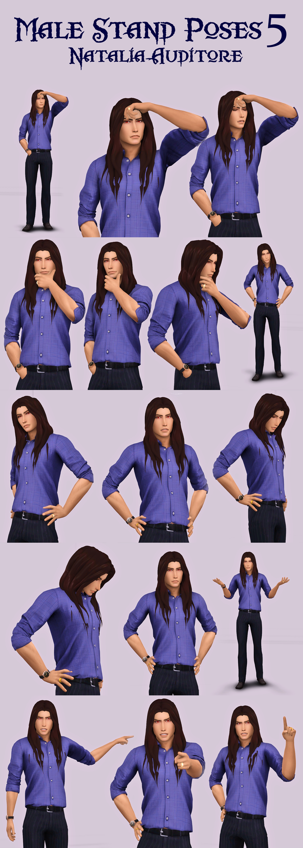 Male Stand Poses 5 Natalia Auditore On Patreon In 2020 Poses Sims 4 Sims