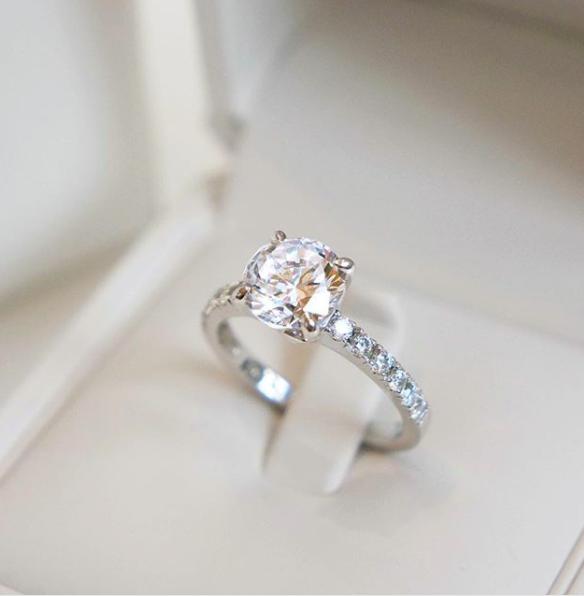 Wedding Gifts Auckland: The Alula Setting. Naveya & Sloane Engagement Ring, Made