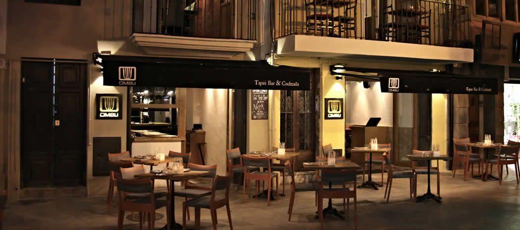 Restaurante En Palma Ombu Terraza Mallorca Tapas Bar