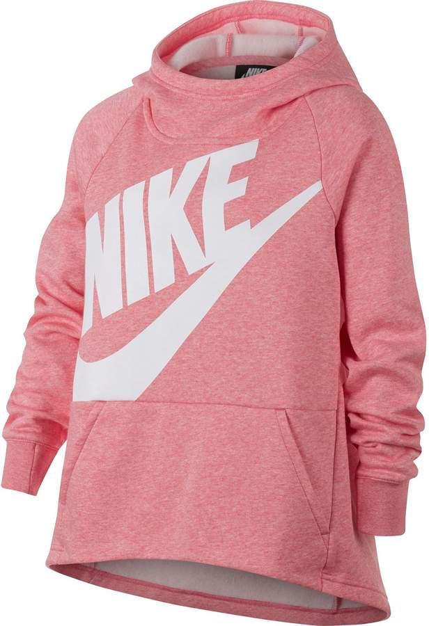 6831853394f8 Nike Girls 7-16 Pullover Hoodie Sweatshirt