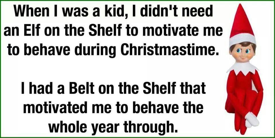 Belt on a shelf