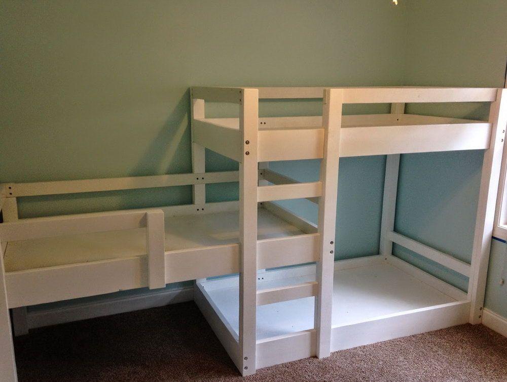 Free Triple Bunk Bed Plans Pdf Bunk Beds Bunk Bed Plans Loft Bunk Beds