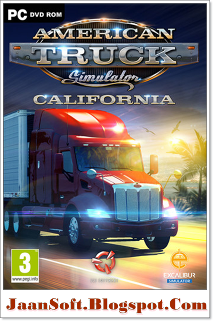 American Truck Simulator 2017 California PC Game Download