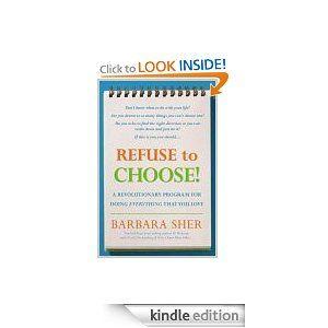 Amazon refuse to choose ebook barbara sher renaissance soul amazon refuse to choose ebook barbara sher fandeluxe Choice Image