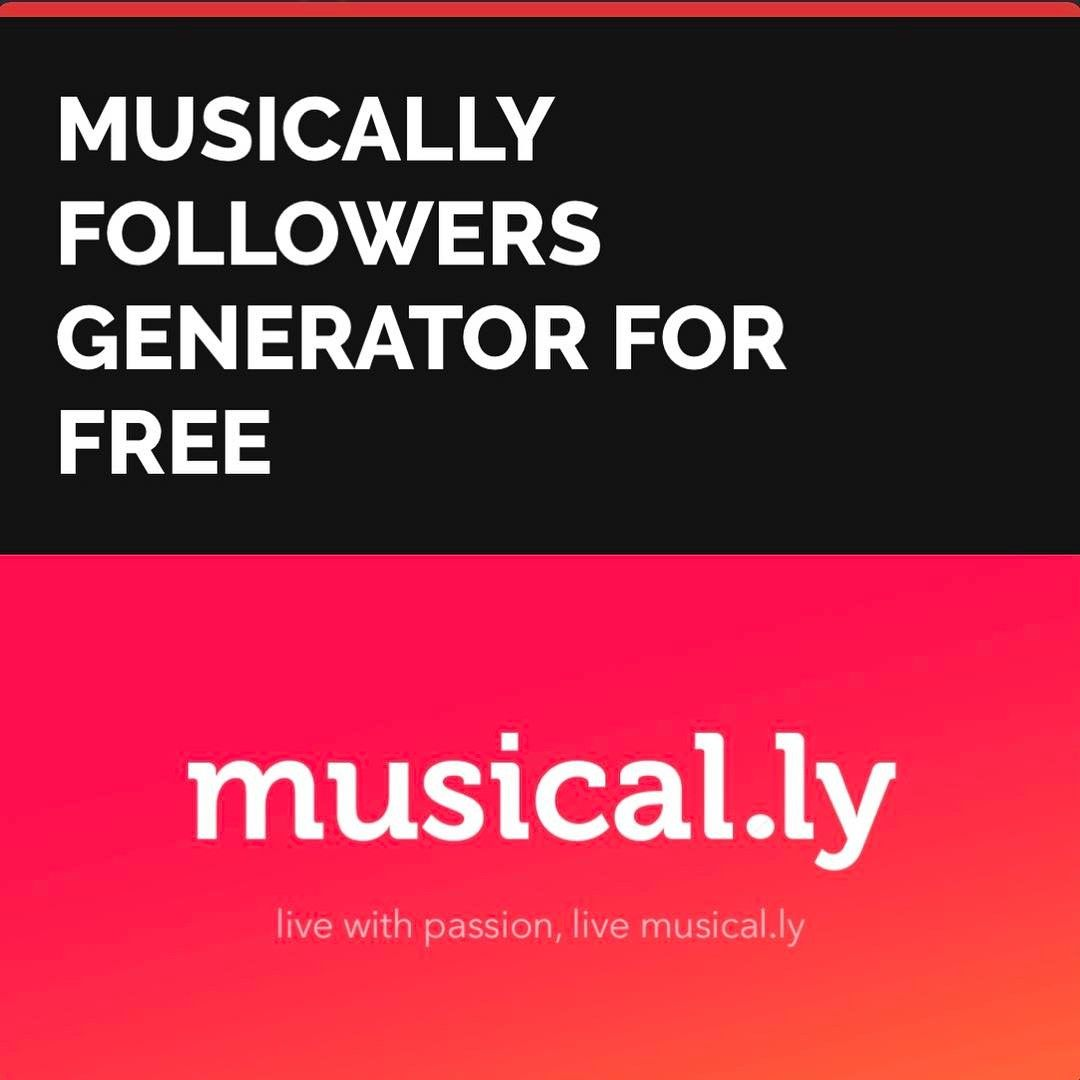 MUSICALLY FOLLOWERS GENERATOR FOR FREE 🔥CLICK on the IMAGE