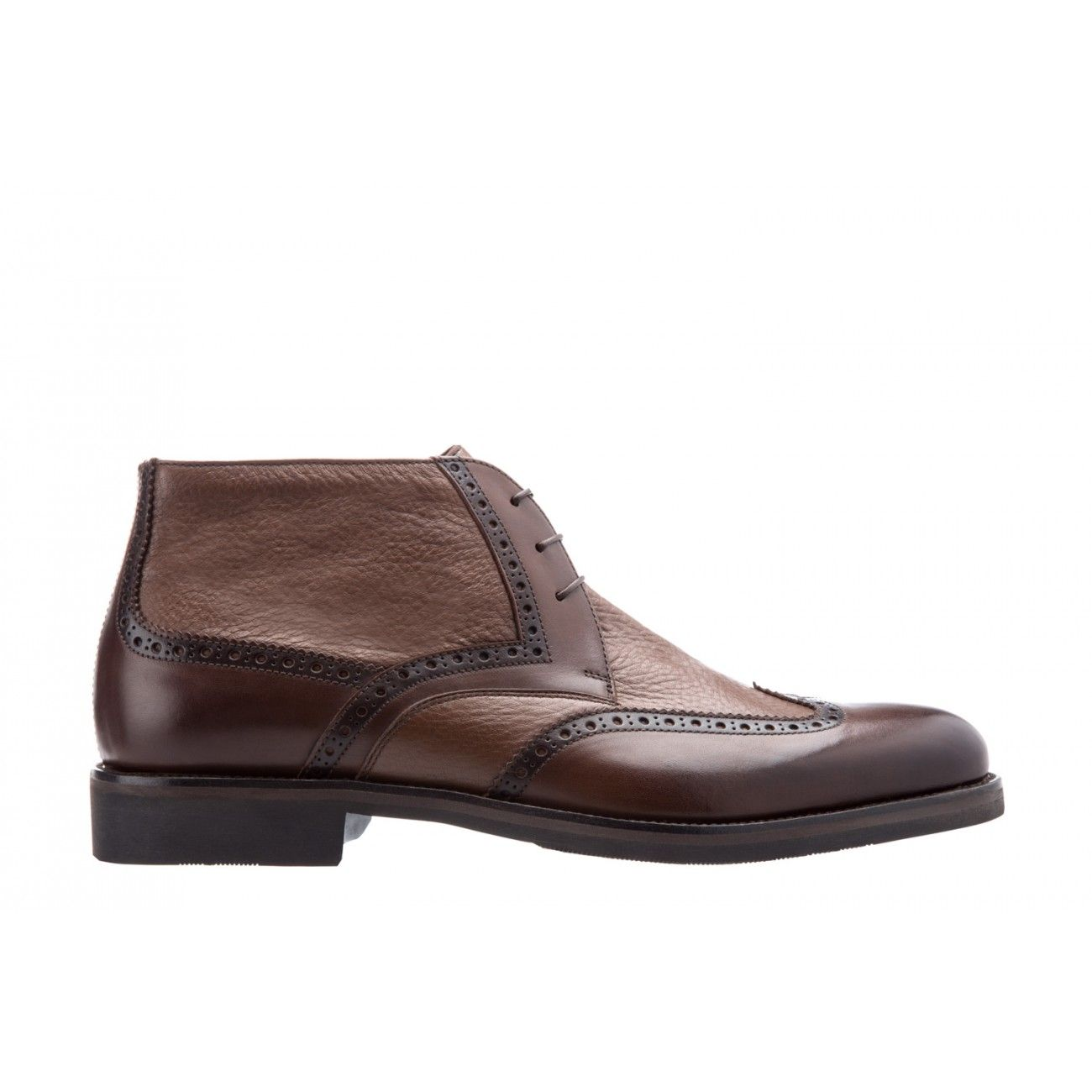 Italian Shoes & Accessories Made in Italy. Find this Pin and more on MEN'S  FOOTWEAR by ghassanjean. Moreschi Deerskin ankle boot