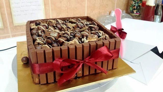 Besten Kuchen Rezept Kinderschokolade Torte Probieren