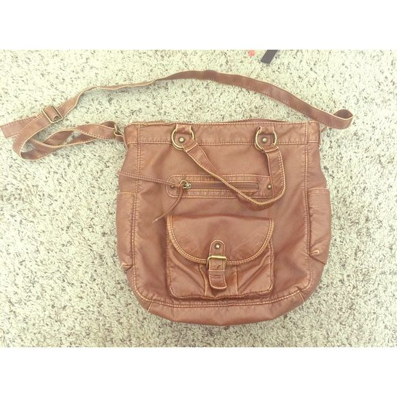 Satchel from PacSun Only flaw is the one seen in pictures. Otherwise mint condition. PacSun Bags Satchels