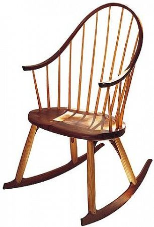 Thos Moser Amish Rocking Chairs Rocking Chair Mesh Chair