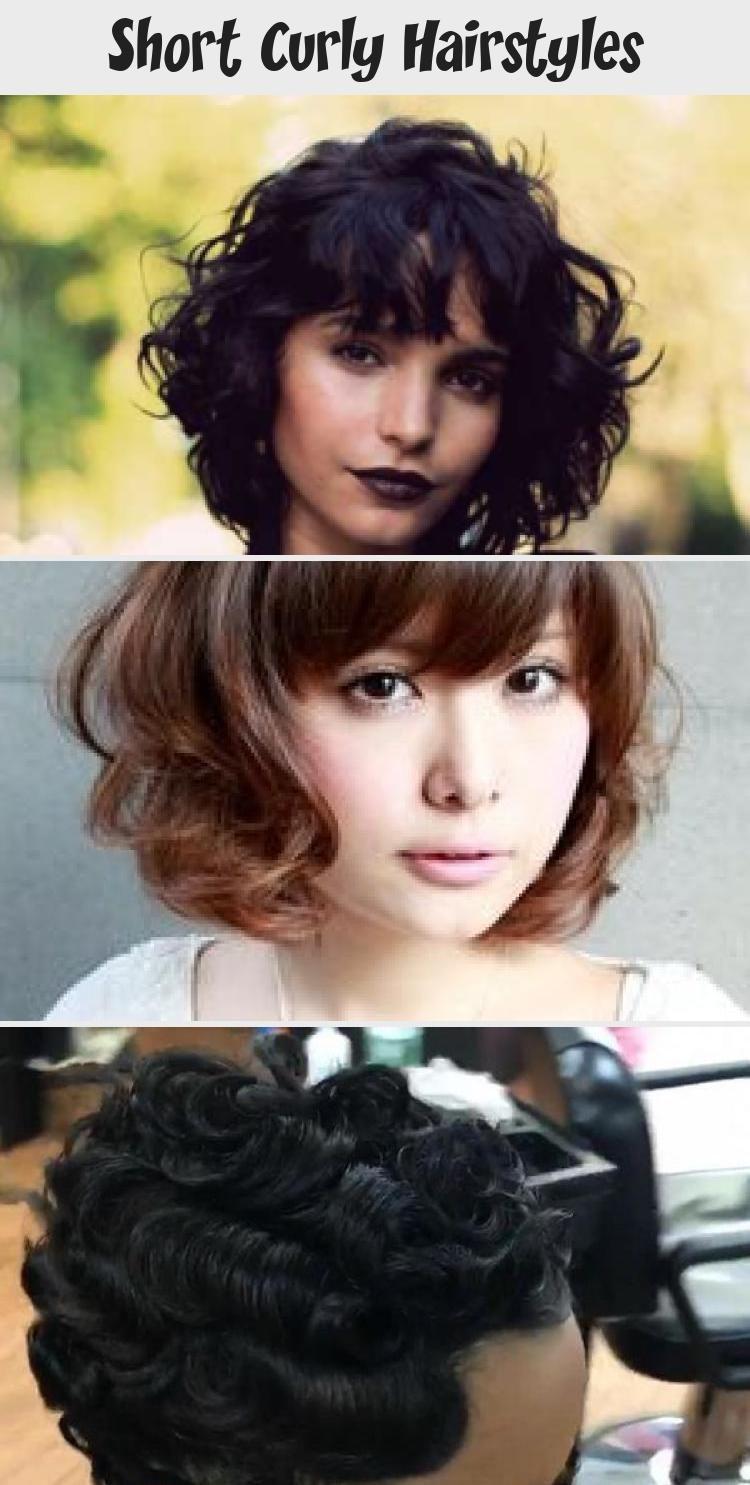 Kurze lockige Frisuren #Kurz #Curly #Hairstyles #Natural #TwistOutsOnnaturalha …