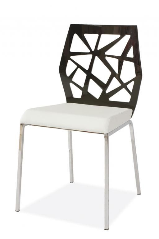 Krzeslo Metalowe H 301 Bialy Krzesla Ekoskora 3434844246 Oficjalne Archiwum Allegro Furniture Chair Home Decor