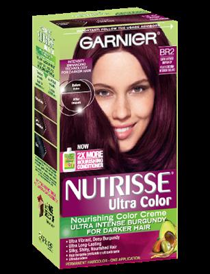Nutrisse Ultra Color Dark Intense Burgundy Hair Garnier