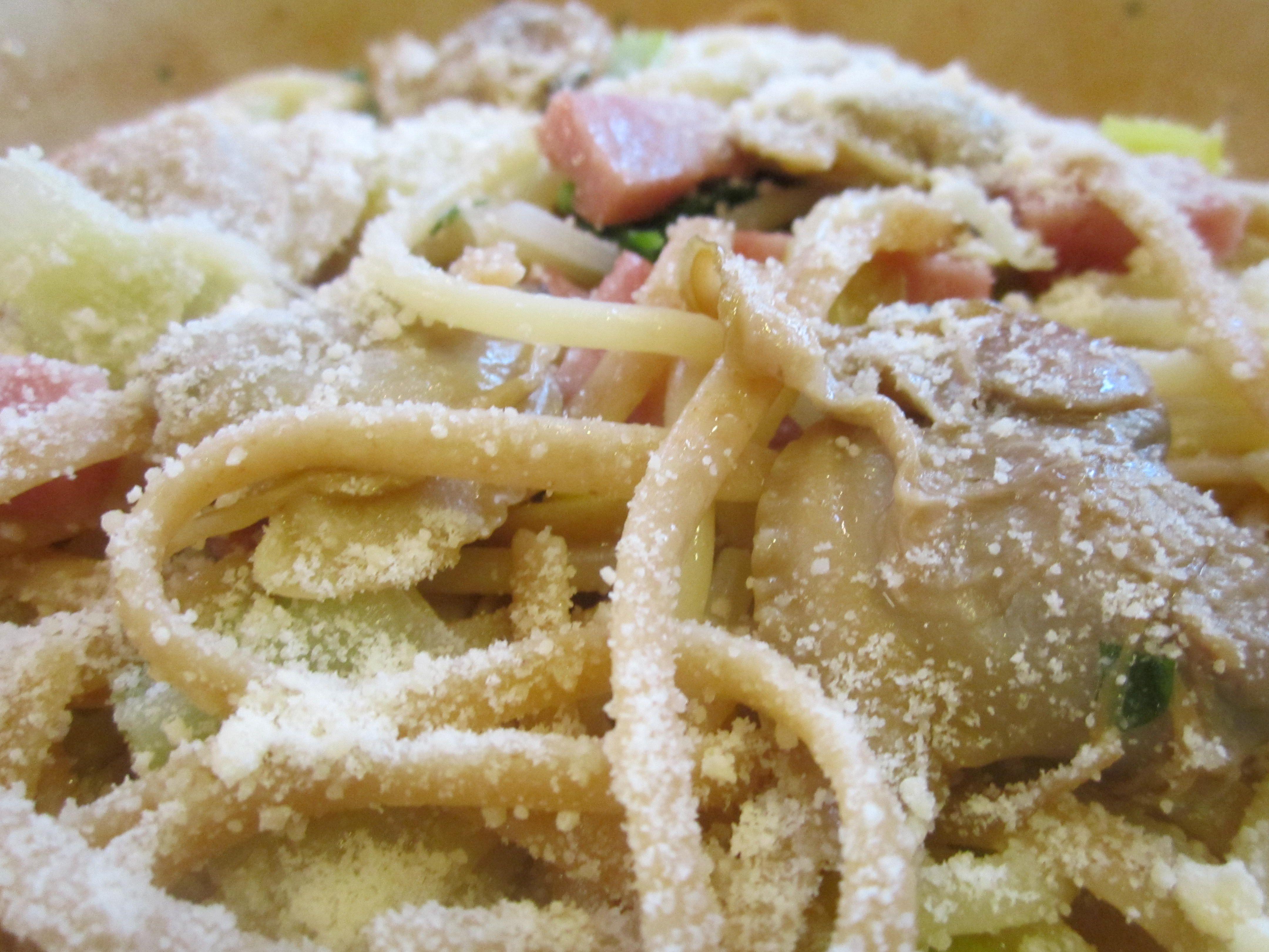 Smoky Clams with Pasta