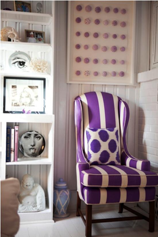 purple ikat