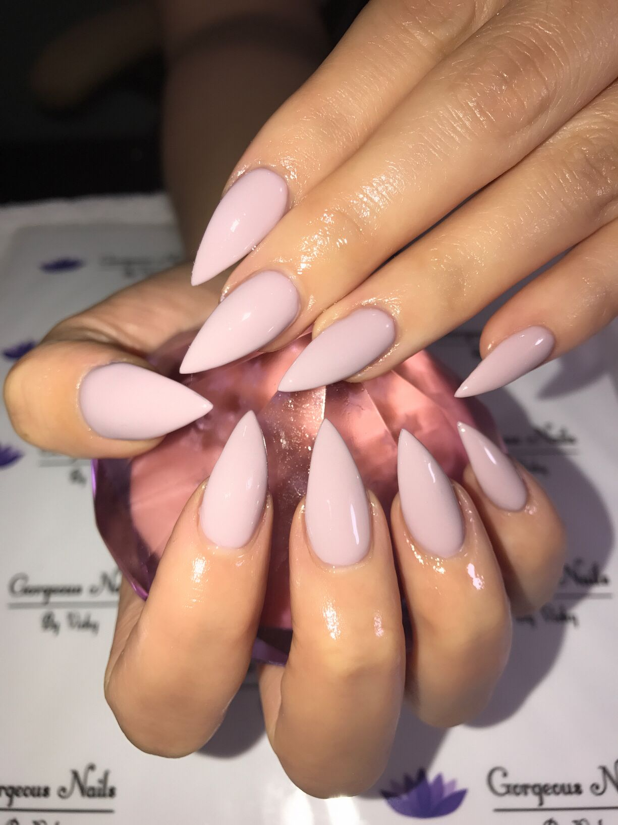 Stilettos nails gorgeous nails by vicky pinterest stilettos well liked acrylic nails design prinsesfo Gallery