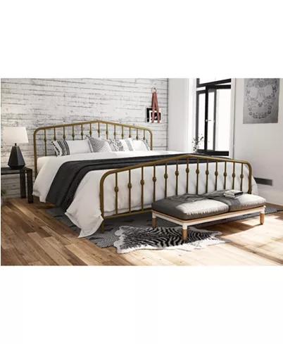 Novogratz Collection Novogratz Bushwick King Metal Bed