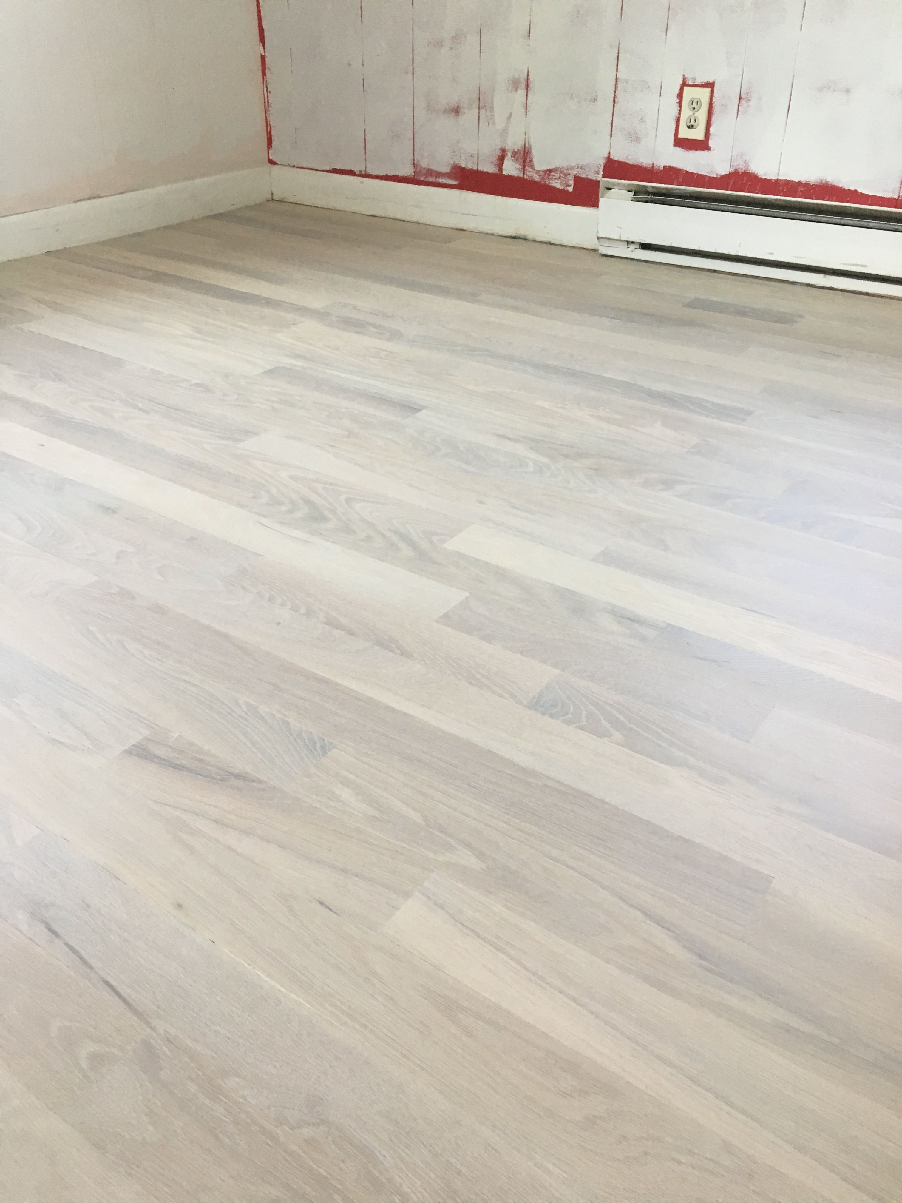 White Oiled Hardwood Floors Oak 1 Common Finished With Loba S Pre Tone And Chalk Impact Oil