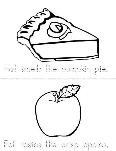 Fall Smells Like Pumpkin Pie! Book from TwistyNoodle.com | Autumn ...
