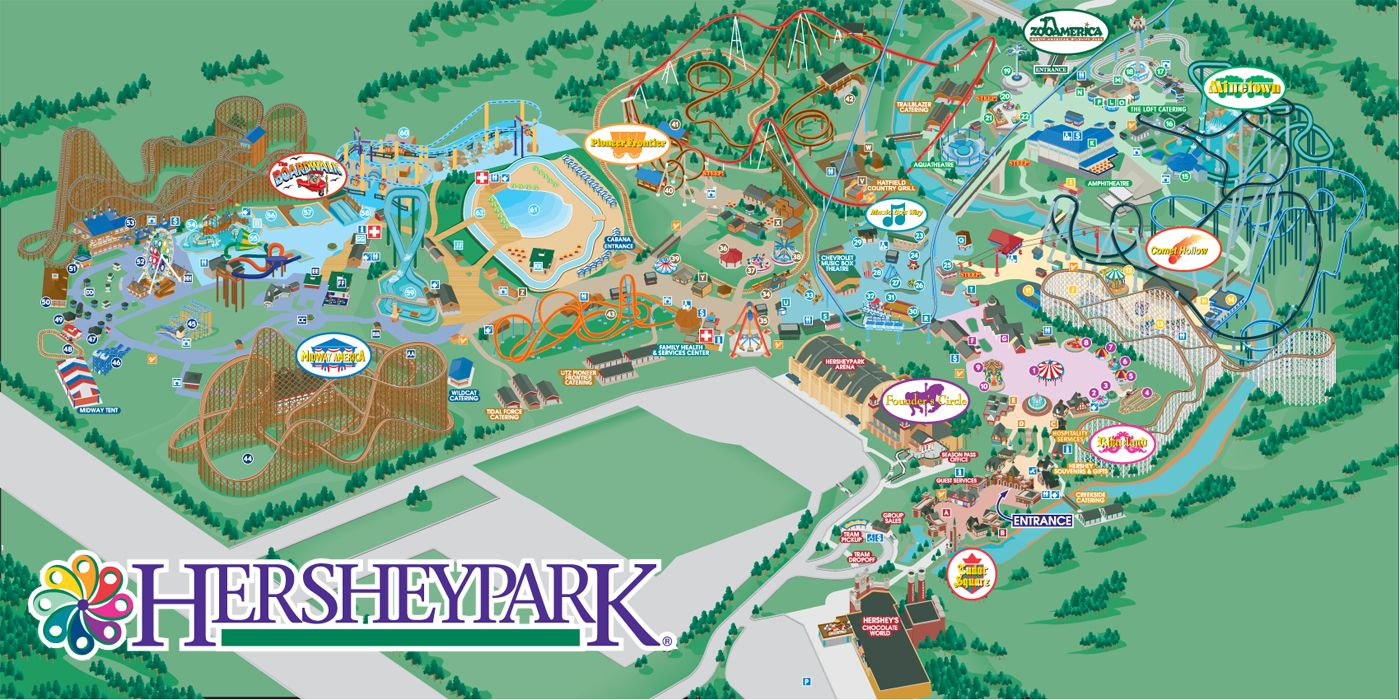 Hershey Park, Winter is the best time to go...the ...