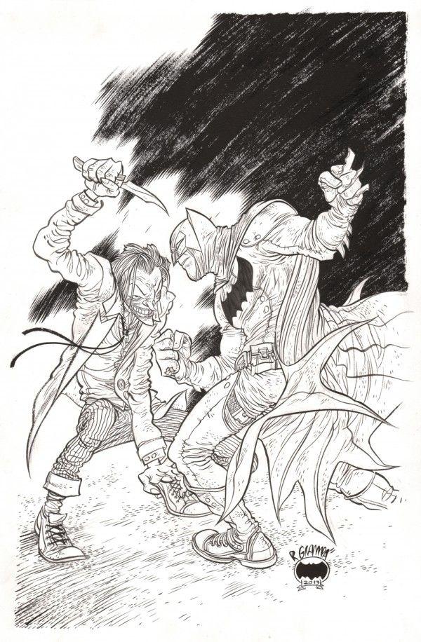 Batman vs. The Joker by Rafael Grampa *