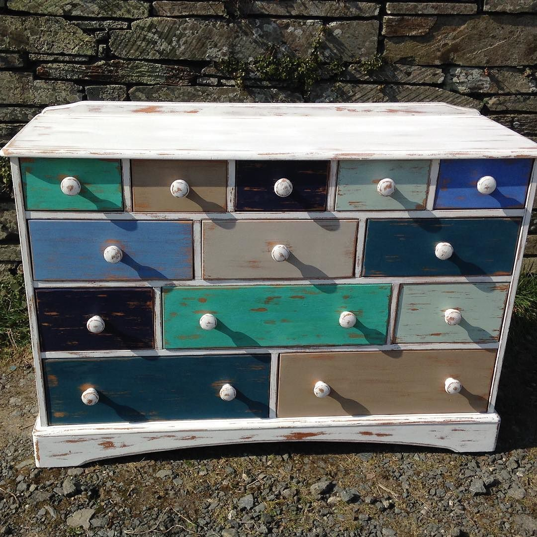 This gorgeous beach inspired sideboard is now available from Tis Ansum!! Loving the colours!  #upcycle #upcycledfurniture #furniture #funkyfurniture #funkyfurniturefacelifts #distressed #distressedlook #distressedfurniture #beachcolours #beachcolourscheme #beachinspired #chestofdrawers #sideboard #drawers #multicolored #reloved #relovedfurniture by tisansum