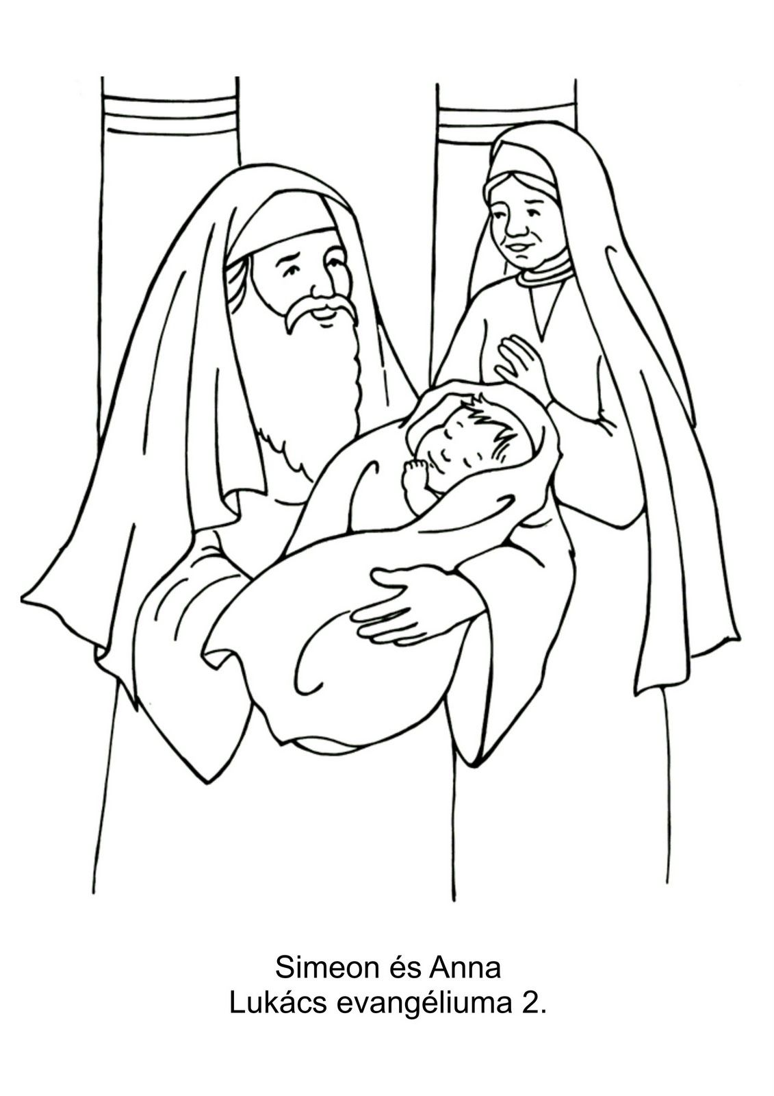 Simeon en Anna | Sunday school | Pinterest | Children church ...
