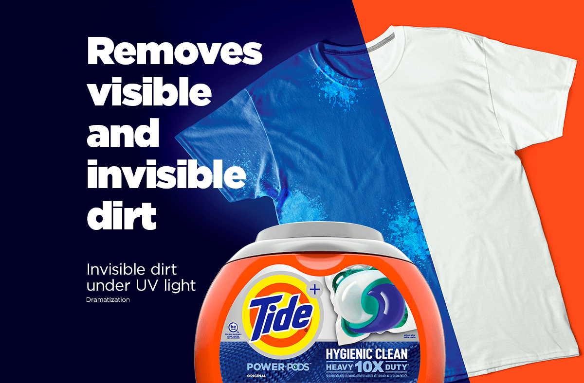 Tide Hygienic Clean Heavy Duty 10x Power Pods Removes Visible And Invisible Dirt From Your Garments Power Pod Tide Pods Cleaning