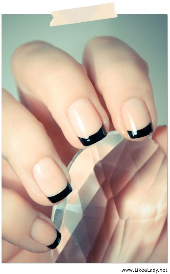 French Mani Makeover: 14 Must-See Updated Versions From Pinterest ...