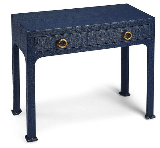 Kos Raffia Console Navy Now 554 50 Was 695 00 Small Console