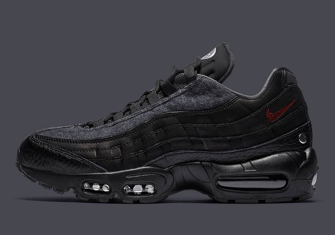 premium selection e6bcd bcb97 Nike Adds Metal Studs To The Air Max 95 NRG Jacket Pack