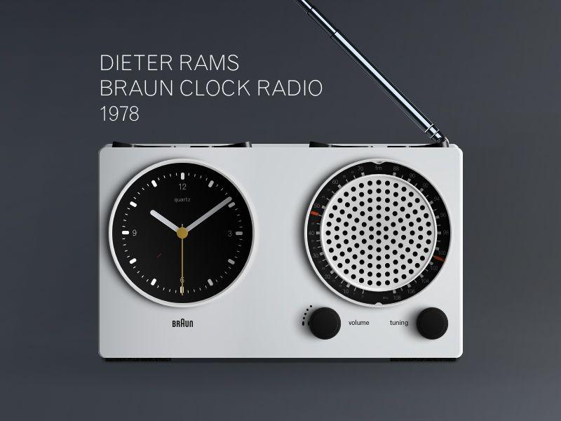 Dieter Rams Braun Clock 1978 Sketch Freebie Download Free Resource For Sketch 3 Dieter Rams Braun Clock Braun Dieter Rams