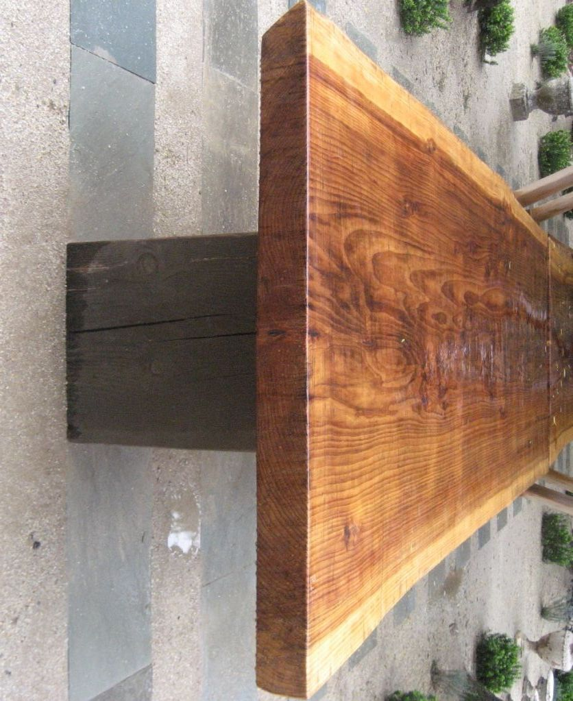 Awesome Ron Mann Redwood Table
