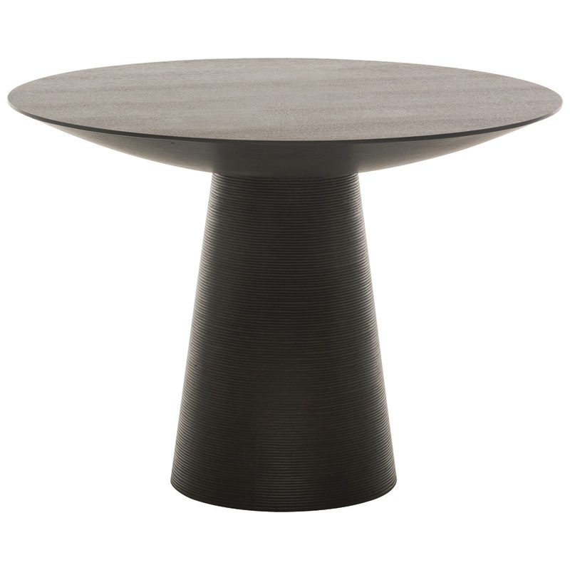 Dania Dining Table Dining Table Dining Table Black Round