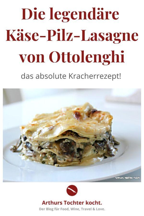 Knaller-Rezept für Pilz-Käse-Lasagne von Ottolenghi aus dem Kochbuch 'Genussvoll vegetarisch'