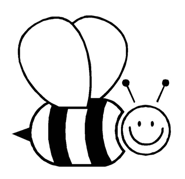 animal bee coloring pages - Bee Coloring Page
