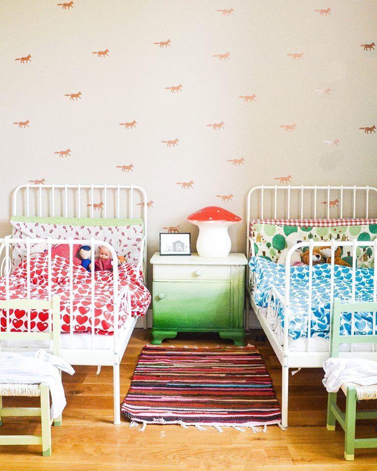 Kinderzimmer Wandsticker kinderzimmer, Zimmer für zwei