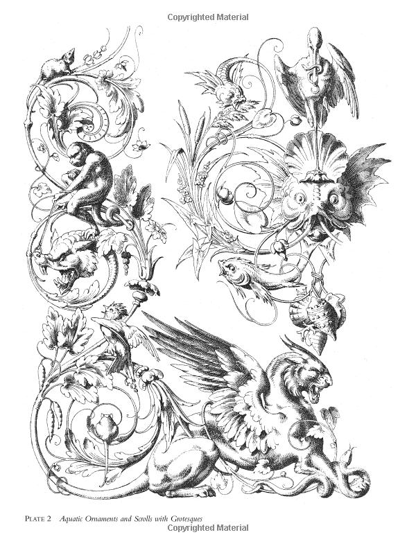 Fantastic Ornament Drawings Sketches Ornament Drawing