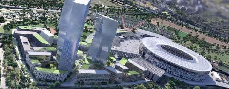 Stadio della Roma: o piuttosto una colata di 1 milione di metri cubi