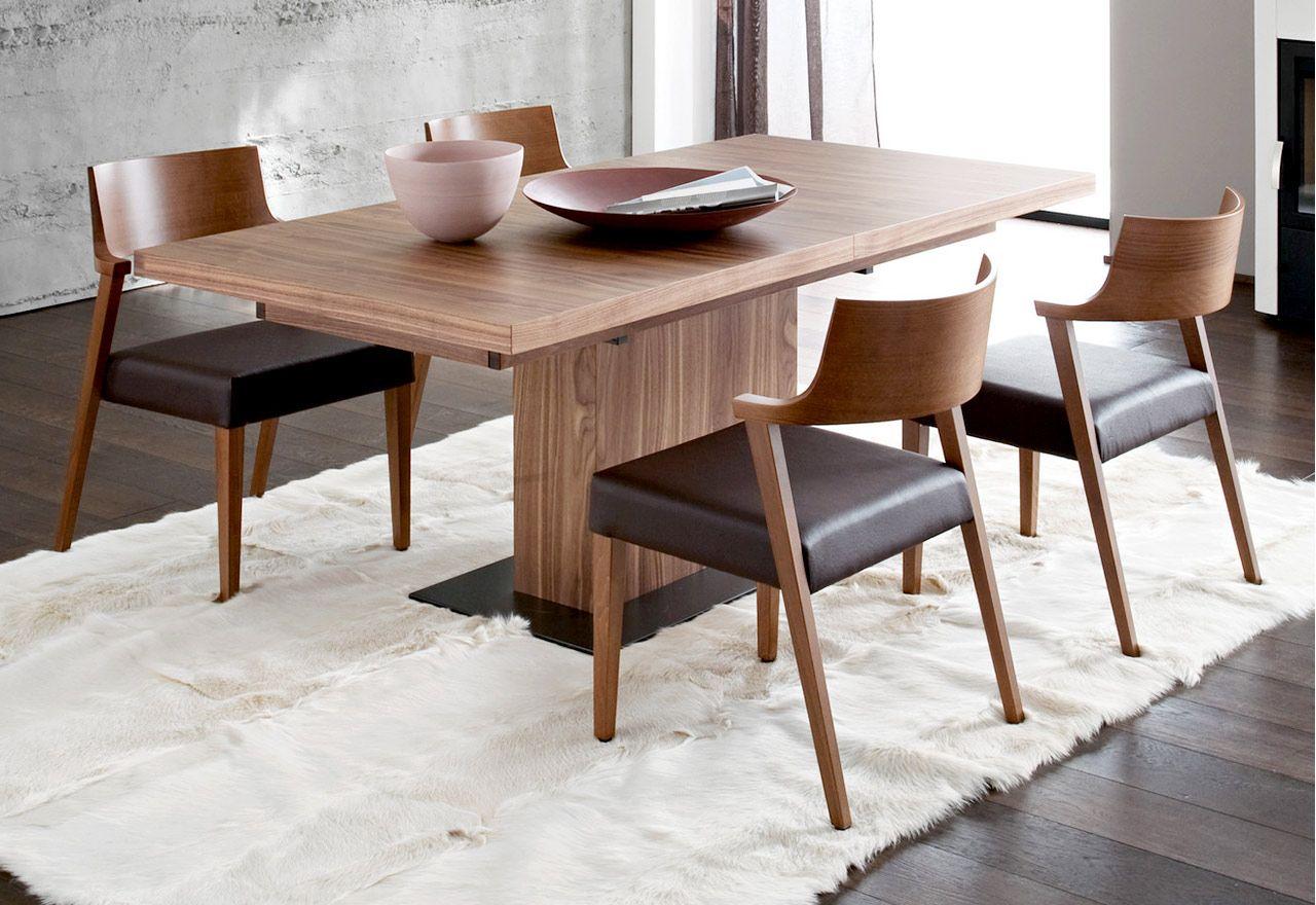Vita 5 Piece Beech Wood Extendable Table