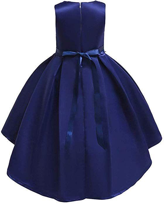 fdb542e6cfc1 Topgrowth Vestito Per Cerimonie da Bambina Elegante Ragazze Abito da  Spettacolo Floreale Abiti Compleanno Festa Matrimonio